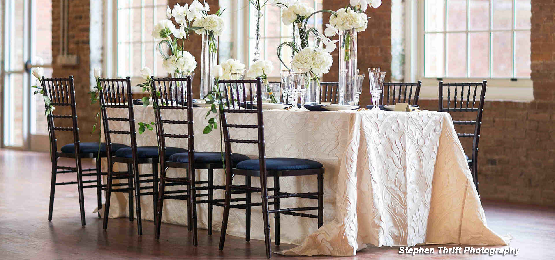 Event Rentals in the Charlotte Metro area